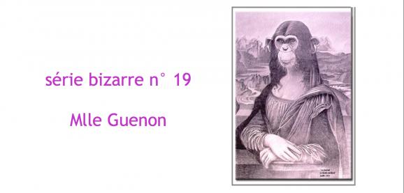 Série bizarre Guenon