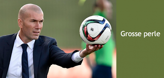 Zidane titre