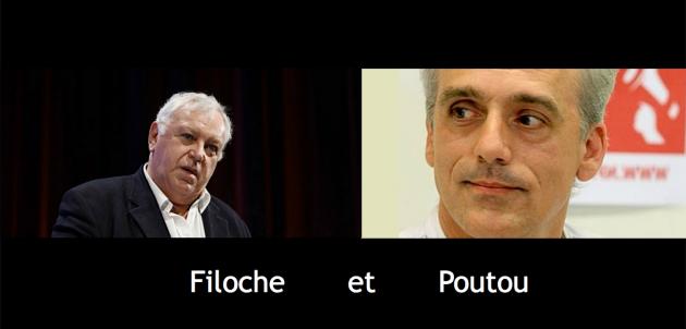Filoche & Poutou titre
