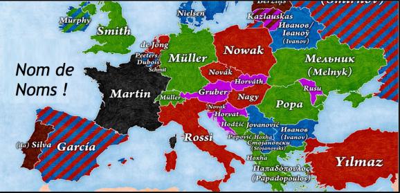 Patronymes EU titre