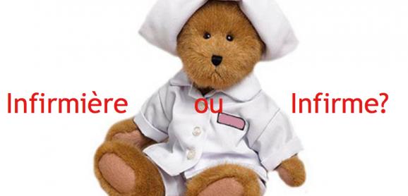 Infirmière ou infirrme?