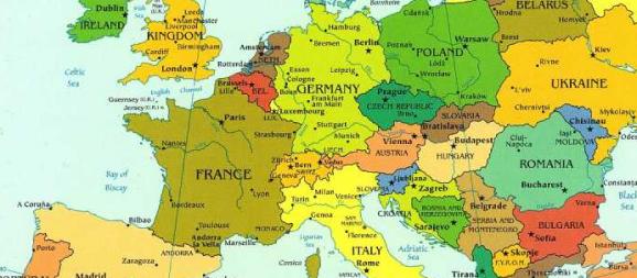 Villes d'Europe